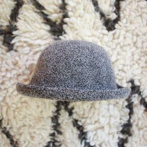 Topshop Grey Black Speckled Bowler Hat